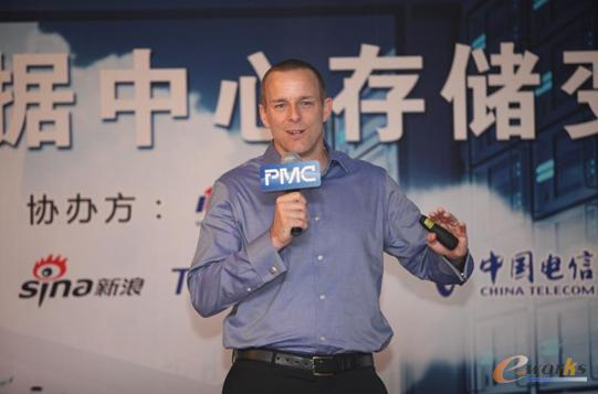 PMC企业存储部NVM方案总经理Derek Dicker
