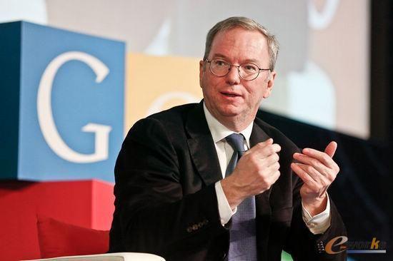 谷歌执行董事长埃里克·施密特