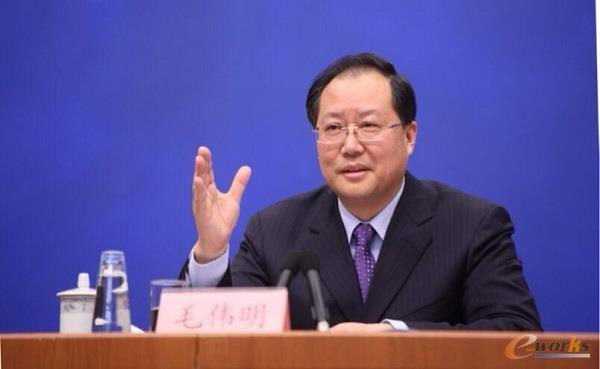 工业和信息化部副部长毛伟明
