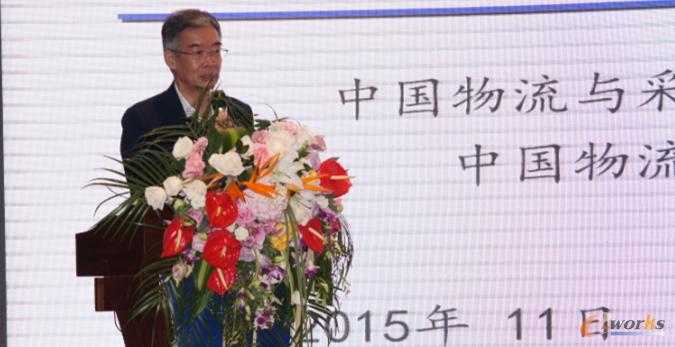 中国物流学会常务副会长,中国物流与采购联合会专家委员会主任戴定一先生