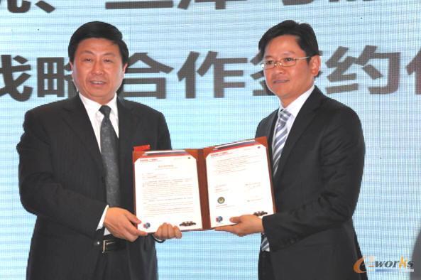 达索系统与江苏盱眙职教集团签署战略协议