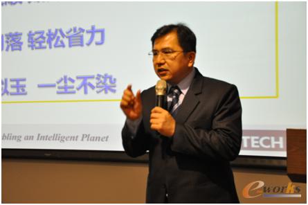 研华(中国)公司工业自动化事业群总经理蔡奇男先生