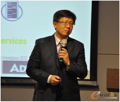研华工业自动化事业群全球副总经理黄瑞南先生