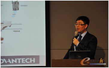 研华智能制造行业开发经理谢波先生