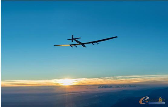 阳光动力2号太阳能飞机环球飞行