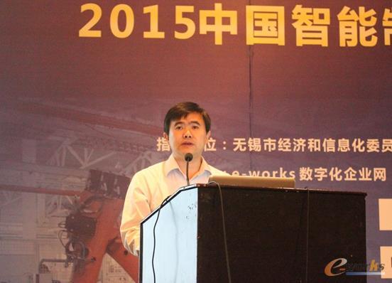 图3 e-works总经理黄培博士