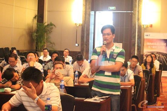 图8  2015中国智能制造(无锡)论坛CIO俱乐部沙龙提问