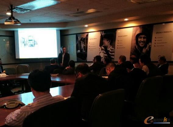 Bradley Hong先生为我们介绍了全球KSS公司现有信息系统现状