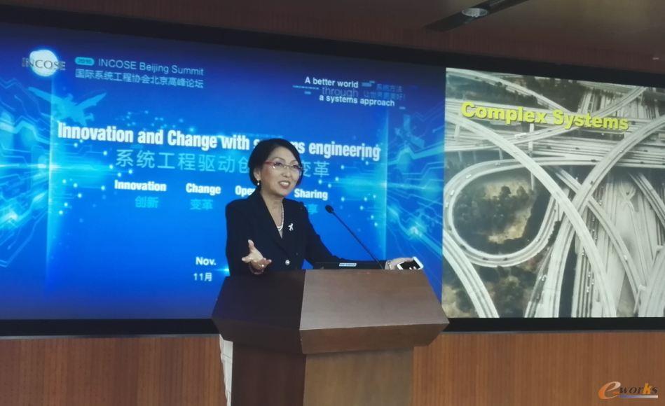 中国商用飞机有限责任公司系统集成总师、国际航空科学委员会(ICAS)主席嬴淑娴