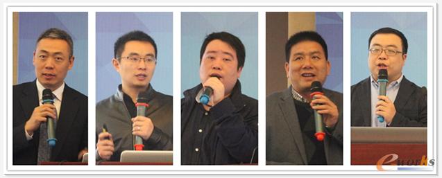 从左到右,从上到下:柏冠嵩、齐德龙、陈新、郭旭光、刘琳珂