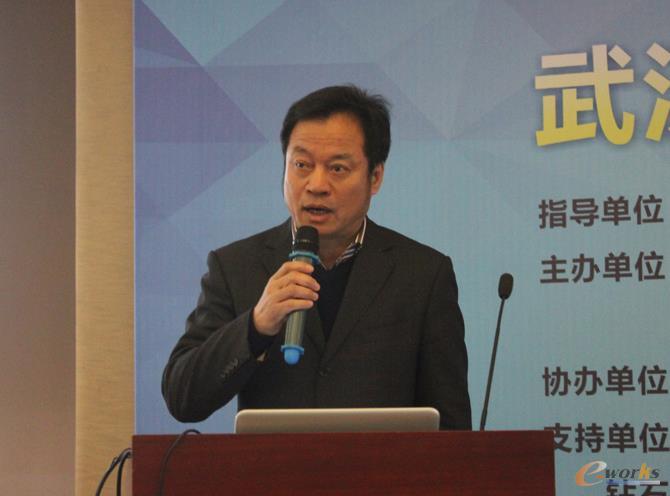武汉市经济和信息化委员会副主任杨立祥