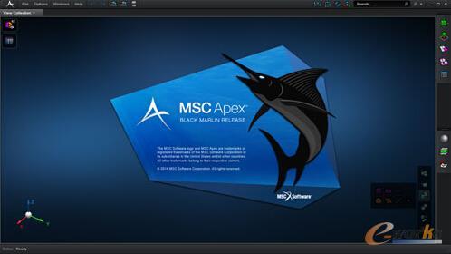 图3 MSC Apex应用界面
