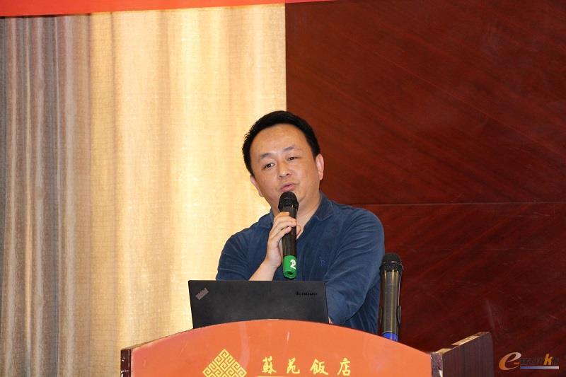 力隆集团信息部部长王高明先生