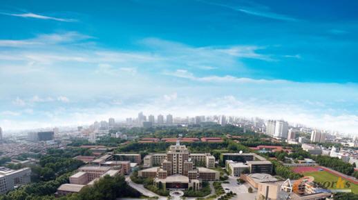 西安交通大学的美丽校园