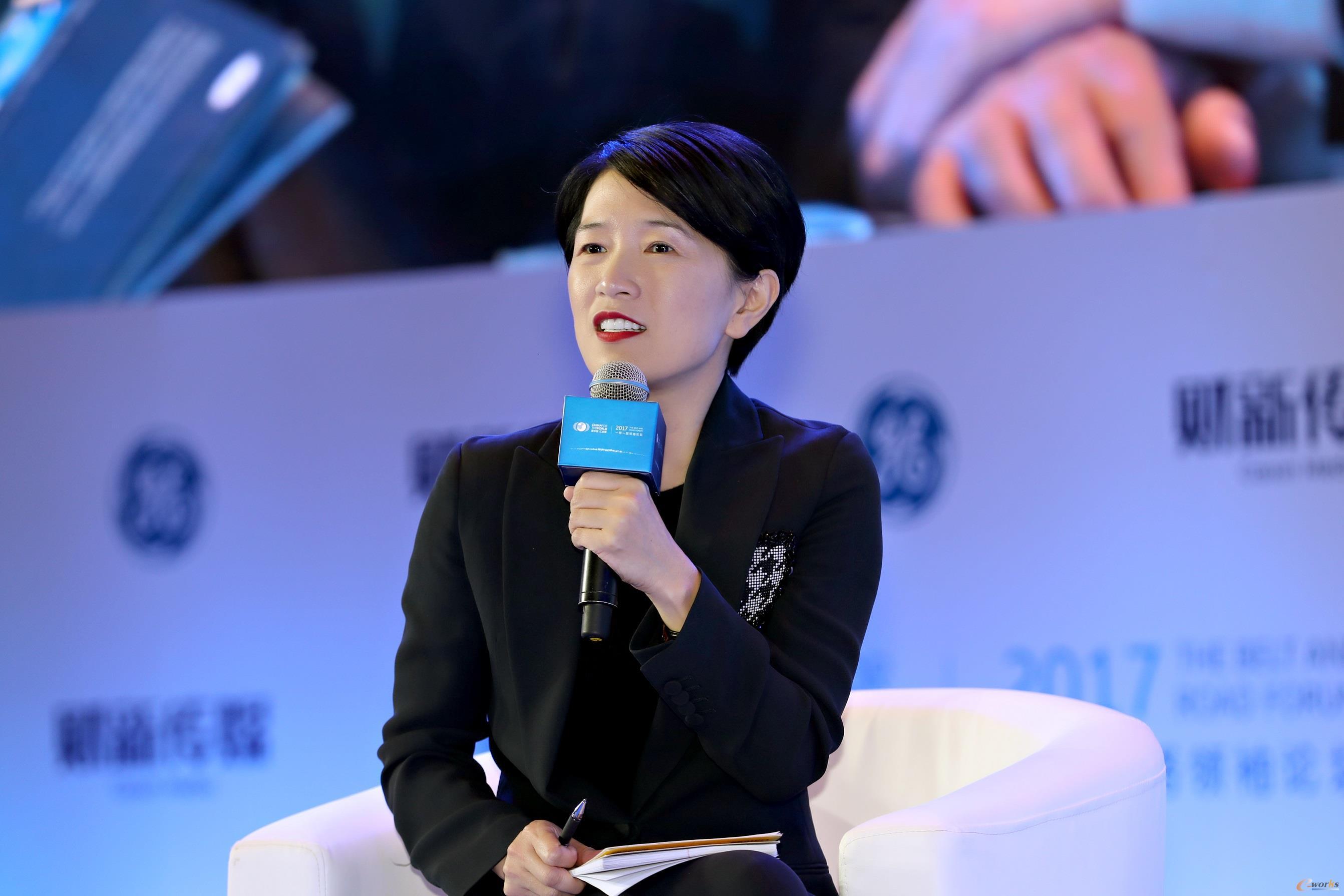 GE全球高级副总裁、GE中国总裁兼首席执行官段小缨