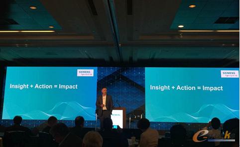 这是Tony Hemmelgarn第一次以Siemens PLM Software全球总裁兼首席执行官的身份站在近百位分析师和记者面前答疑解惑,他履新这一职位不到一年的时间