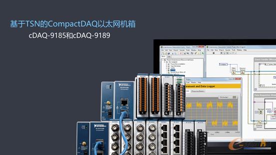 NI已正式推出基于TSN的CompactDAQ以太网机箱