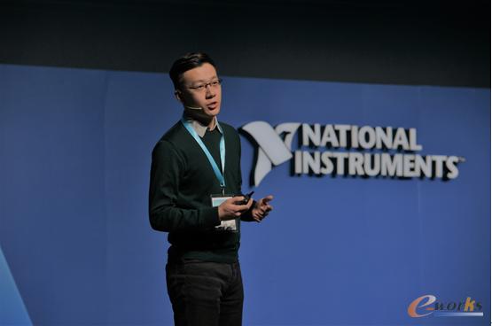天泽智云技术研发副总裁刘宗长阐述与NI合作案例