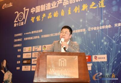 图3 广汽集团汽车工程研究院首席技术总监兼信息与数字化部部长唐湘民