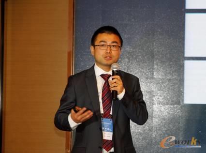 图7 达索系统工业设备行业解决方案全球销售总监张乐宁