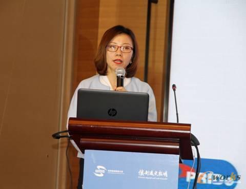 图8 中国船舶重工集团南京鹏力科技集团有限公司副总经理王淼