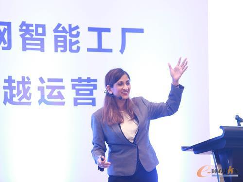 Plantweb解决方案及服务全球副总裁Vidya Ramnath