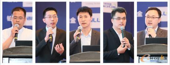 自左至右:宋海明、董昆、孙建德、杨凯、赵杰