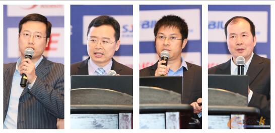 自左至右:刘朱锋、朱铎先、李文贤、郑炳权