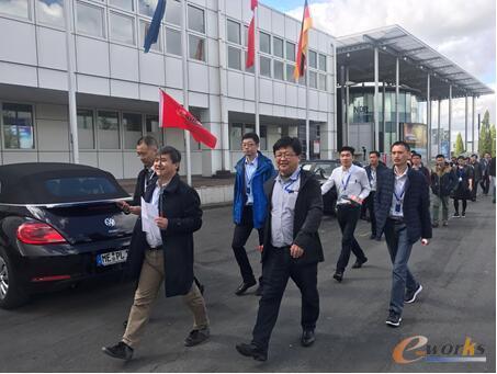2017第六届德国工业4.0考察团抵达