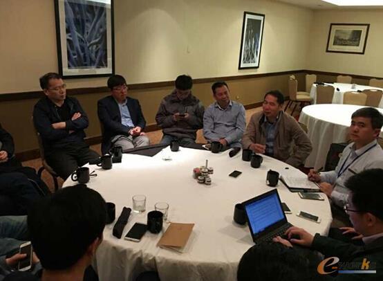 团员集体分享此次美国考察的收获