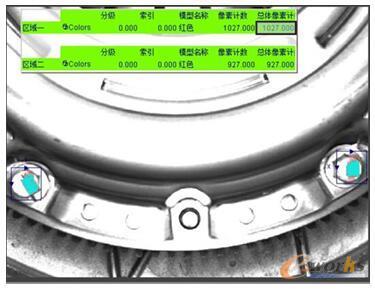 齿轮箱驱动装置螺栓漏装检测效果