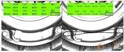 齿轮箱驱动装置螺栓铅丝检测效果