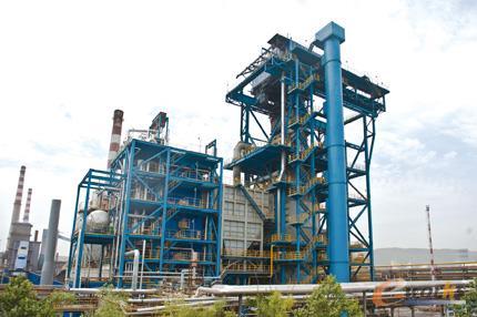 中信重工总包的国内最大合同能源管理项目干熄焦工程