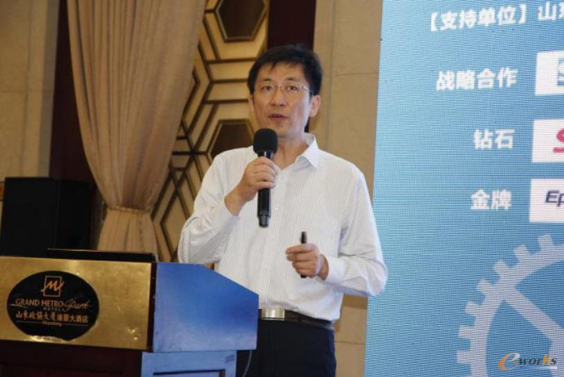 赛意生产制造管理专家 朱志峰