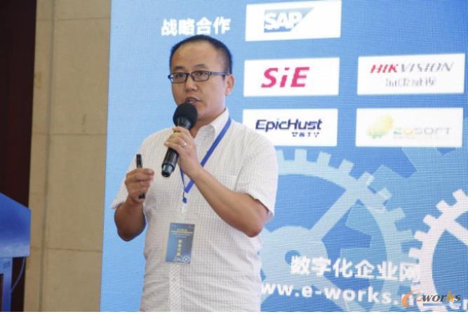 中国重汽集团济南动力有限公司信息管理室主任 姜琦