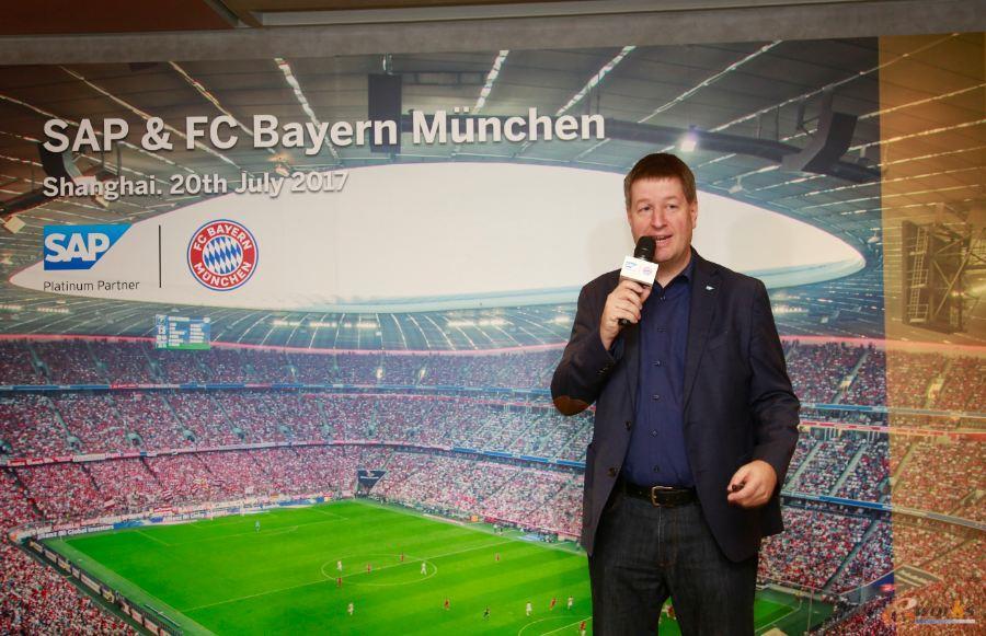 Lars Lamadé讲述SAP科技助力拜仁足球俱乐部数字化发展