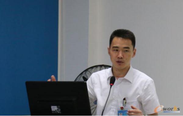 格力电器(武汉)有限公司总经理王向红进行主题分享