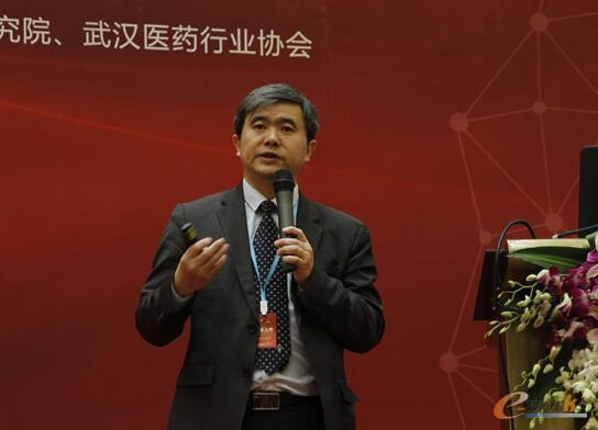 图:e-works总编、CEO黄培博士发表开幕致辞