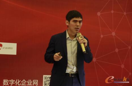 图:aPriori亚太地区产品技术销售总负责人柴思敏发表主题演讲