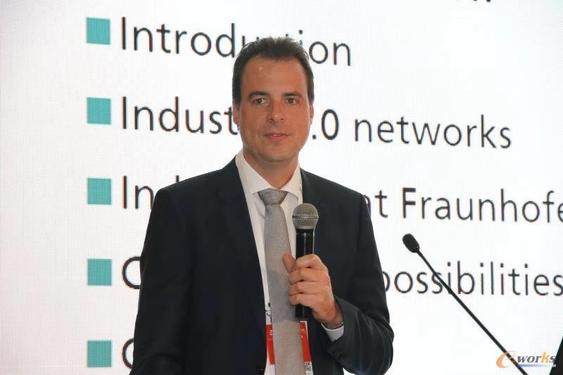 德国弗劳恩霍夫协会Lemgo工业自动化应用中心智能工厂国际业务发展总监Dr. Holger Flatt