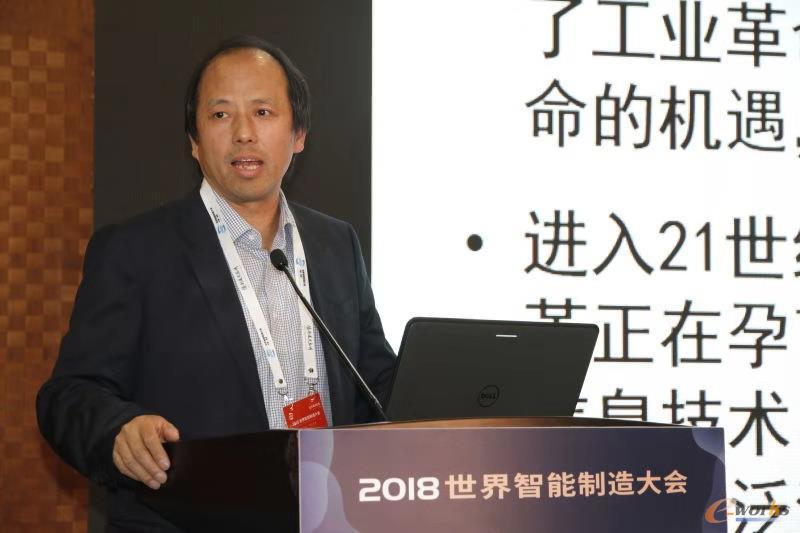 浙江大学机械工程学院院长、中国工程院院士杨华勇