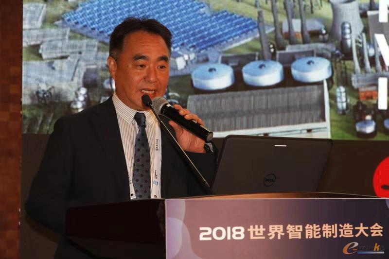 三菱电机(中国)有限公司副总经理 颖川刚志