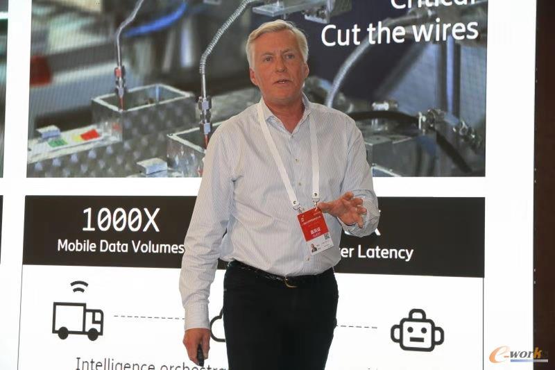爱立信中国供应业务负责人,南京爱立信熊猫通信有限公司总裁 Tomas Qvist