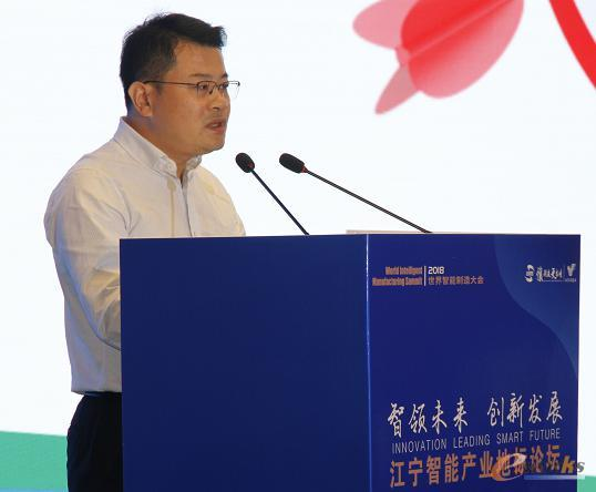 江宁开发区投资促进局局长陈志海