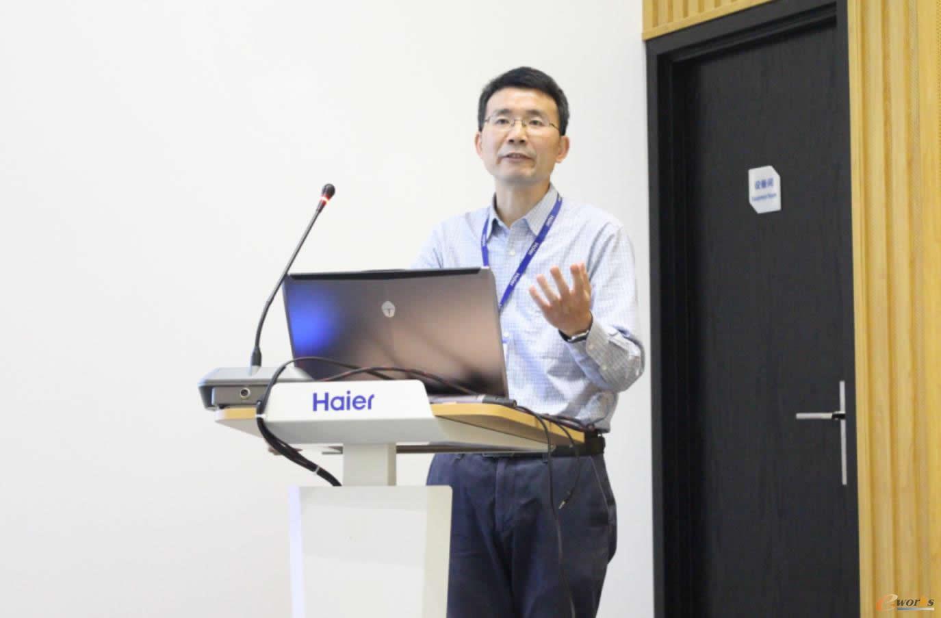 海尔智研院工程技术高级经理刘武