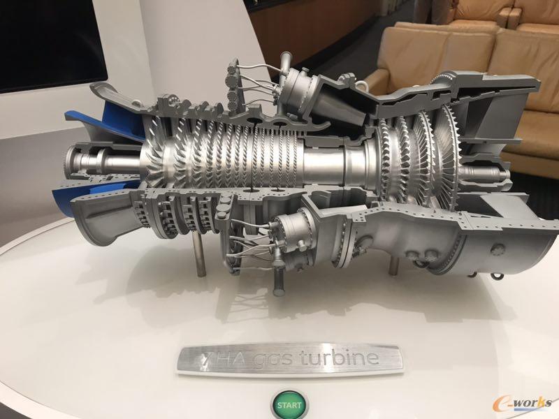 GE燃气轮机工厂产品展示
