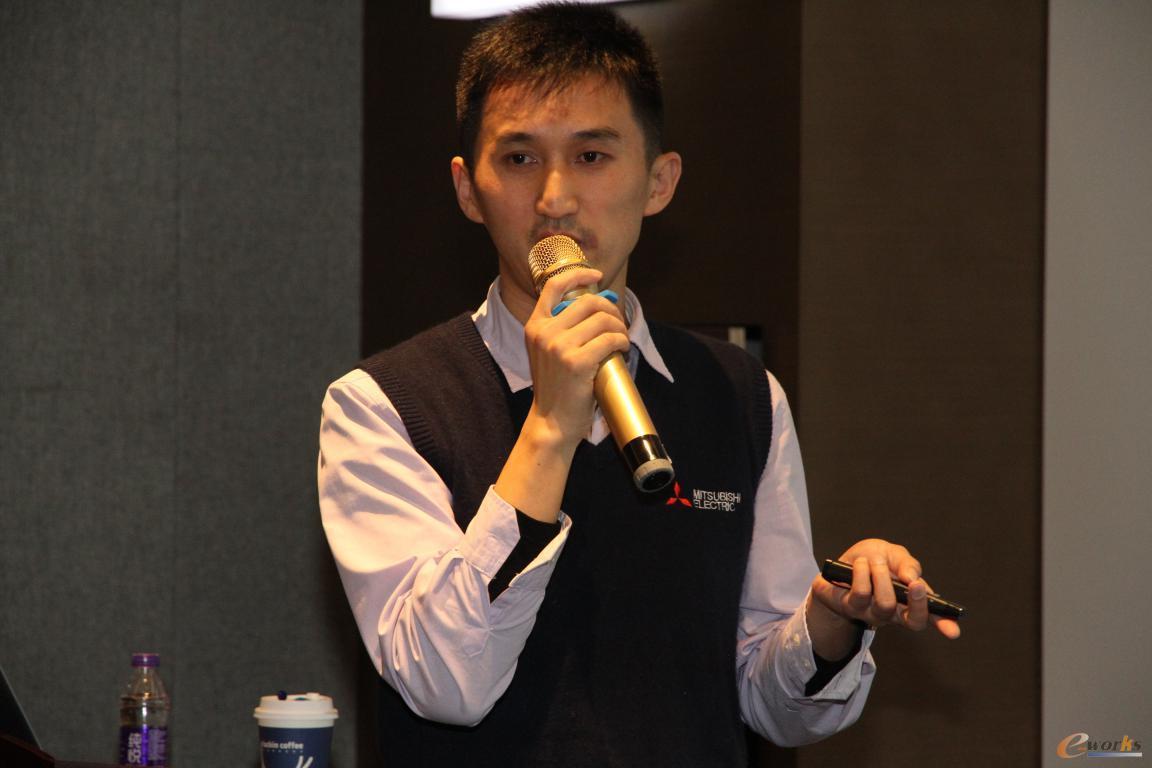 三菱电机自动化(中国)有限公司信息化高级顾问 张隆恩