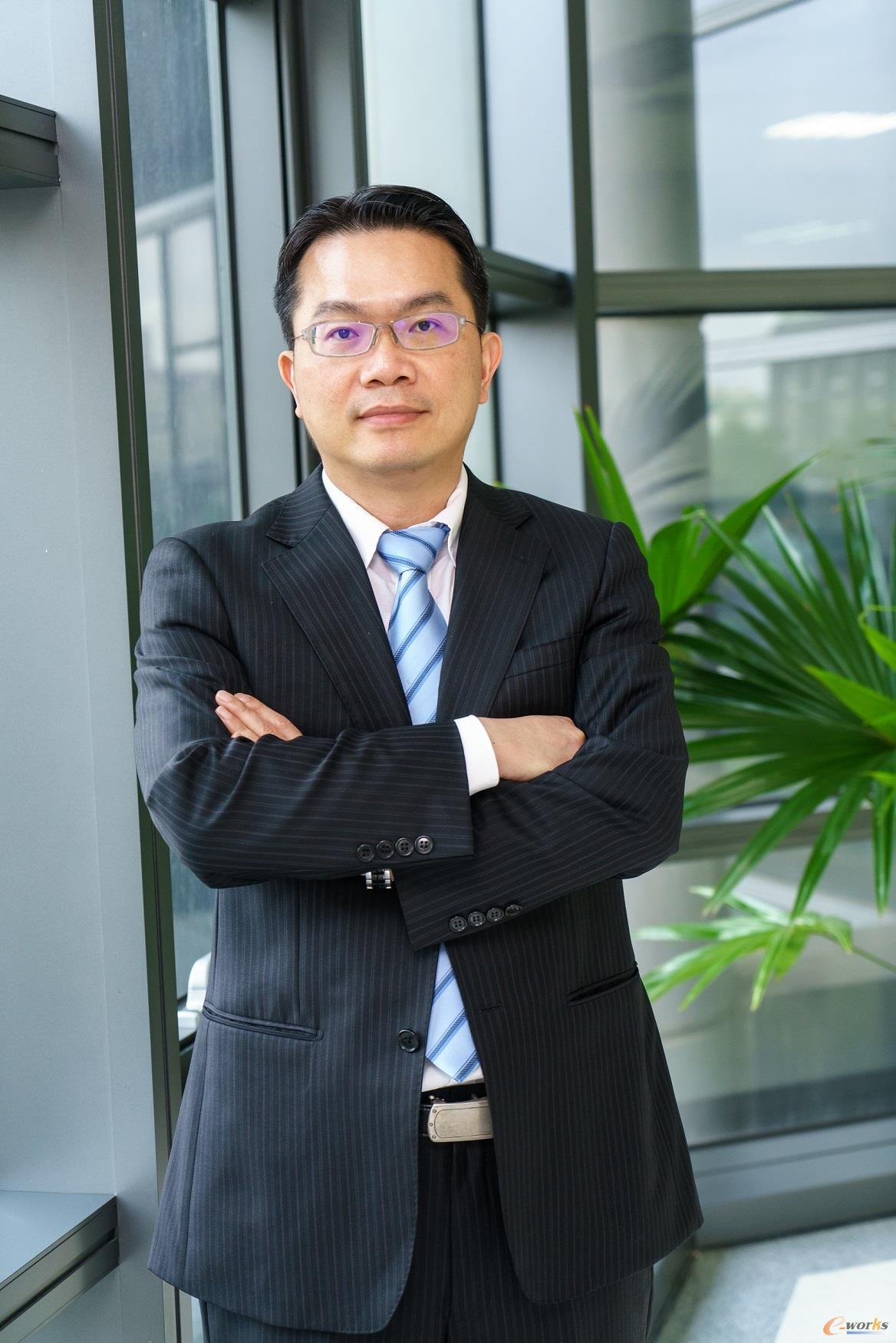 台达集团机电事业群总经理刘佳容先生