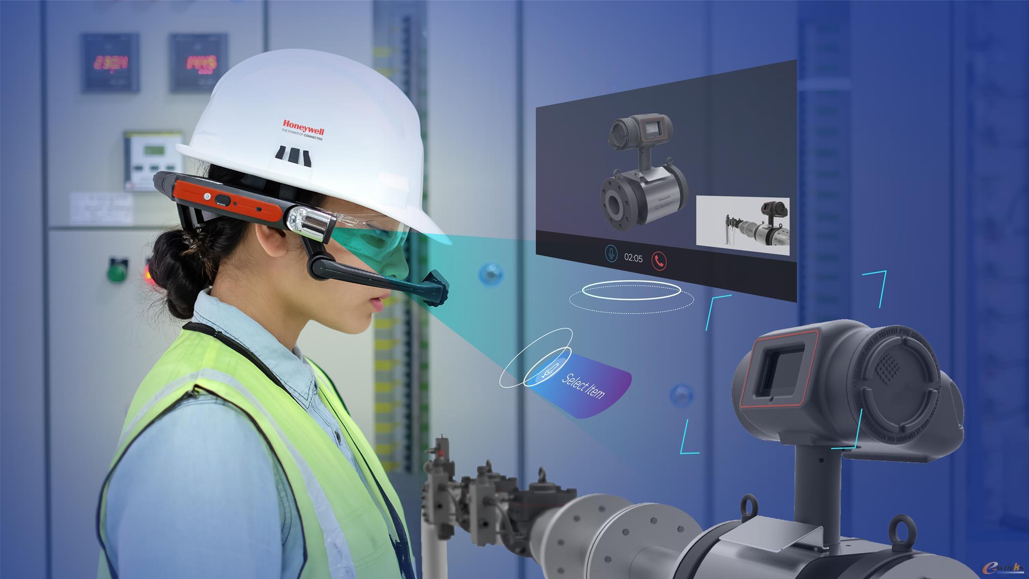 霍尼韦尔互联工厂Skills Insight智能穿戴设备