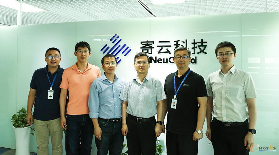工信部信息化与软件司副司长安筱鹏博士一行莅临寄云科技